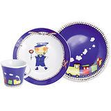 《KAHLA》兒童杯盤3件組(火車)