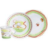 《KAHLA》兒童杯盤3件組(花蝴蝶)
