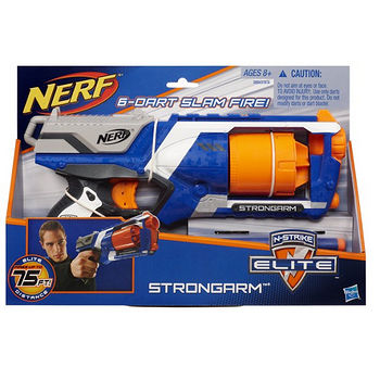 NERF強襲連發衝鋒槍