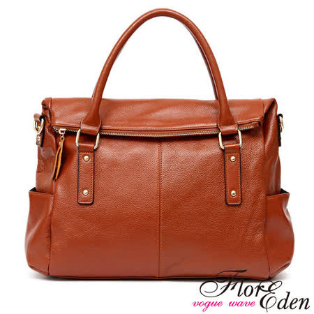 DF FlorEden - 英倫復古話題款真皮2用式醫生包-共2色