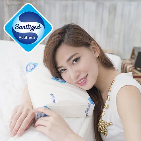 【Sanitized 山寧泰】防蟎抗菌午安記憶枕