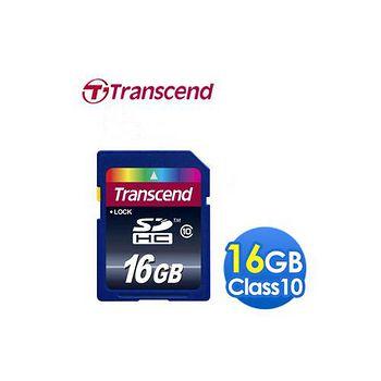 《Transcend創見》 16G SDHC CLASS10記憶卡 16G SDHC CLASS10