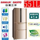 三洋SANYO 551公升變頻四門電冰箱 SR-A551DVF