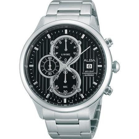 ALBA 雅柏日系文化計時腕錶 VD57-X045D AM3139X1