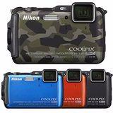 Nikon COOLPIX AW120 防水相機(公司貨)-送32G卡+專用鋰電池+專用座充+漂浮手腕帶+清潔組+讀卡機+桌上型小腳架+保護貼