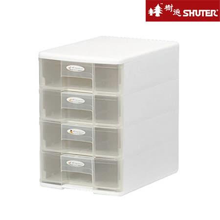 【SHUTER樹德】A4四層桌上文件收納盒