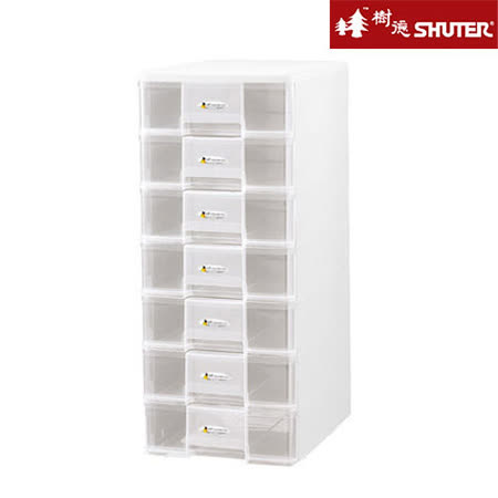 【SHUTER樹德】A4七層桌上文件收納盒