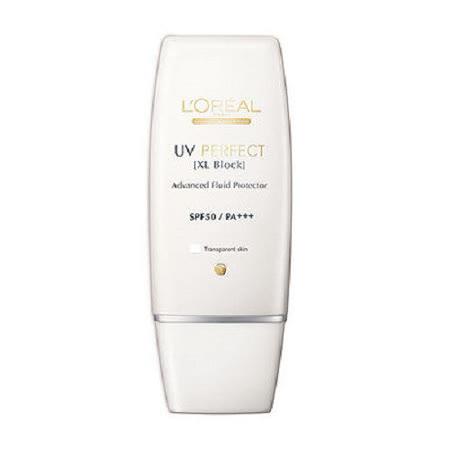 Loreal 巴黎萊雅 完美UV 超效防護隔離乳液SPF50 PA+++ 白色 30ml