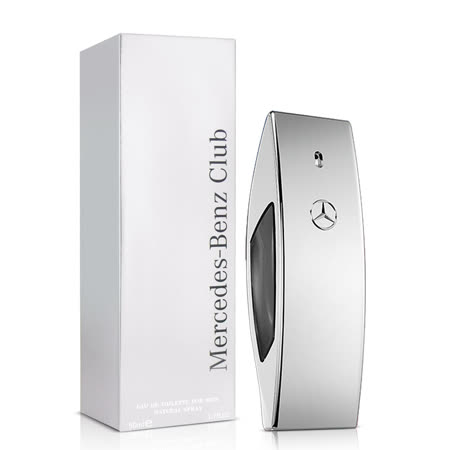 Mercedes Benz 賓士銀色風潮男性淡香水(50ml)-送沐浴精150ml&針管+紙袋