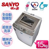 SANYO台灣三洋 媽媽樂15kg超音波洗衣機 (SW-15UF)