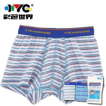 小YG男童條紋四角褲(6~12)