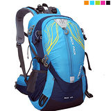 PUSH! 戶外休閒登山用品 40L 登山包 背包 騎行包(可放安全帽)