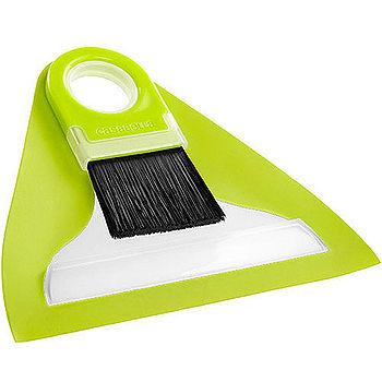 《CASABELLA》桌面掃把+畚箕(綠mini)