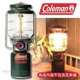 【美國 Coleman】新款 2500北極星瓦斯燈 Northstar (200W).電子點火器.露營燈/  CM5520JM000 綠