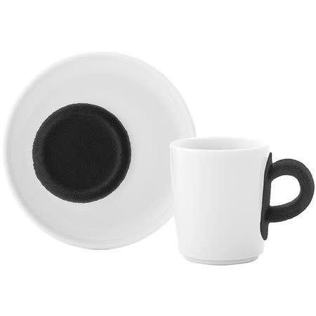 《KAHLA》Touch濃縮咖啡杯碟組(黑)