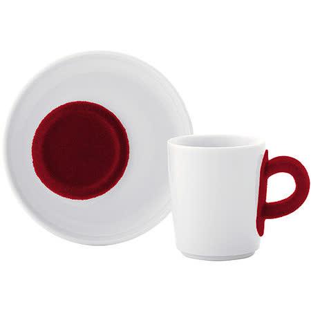 《KAHLA》Touch濃縮咖啡杯碟組(紅)
