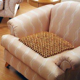 格藍傢飾-檜木珠沙發坐墊55*55CM