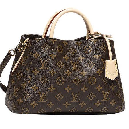 Louis Vuitton LV M41055 Montaigne BB 經典花紋兩用仕女包-預購