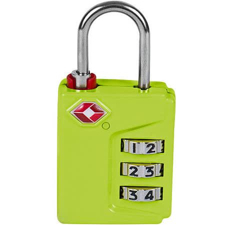 《TRAVELON》TSA三碼密碼鎖(綠)