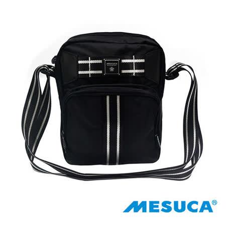 日本品牌【MESUCA】時尚輕巧側背包-黑MHB11477