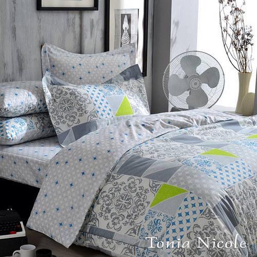 Tonia Nicole 星藍爵士精梳棉兩用被床包組 ^(特大^)