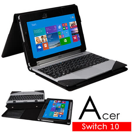 Acer 宏碁 Aspire Switch 10 平板電腦頂級皮套 保護套 可裝鍵盤及分拆