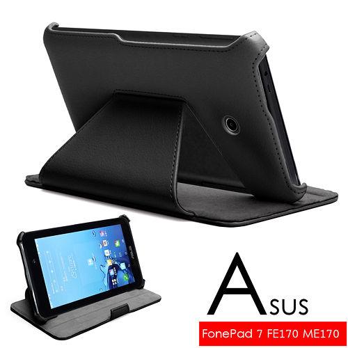 ASUS 華碩 FonePad 7 FE170 FE170CG ME170CG K012 專用頂級薄型平板電腦皮套 保護套 可多角度斜立