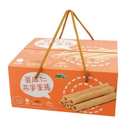 [統一生機]亞麻仁燕麥蛋捲禮盒