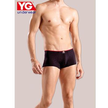 YG壓紋低腰平口褲(M~XL)