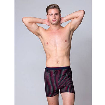都會型男織帶針織平口褲(M~XL)