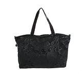 【Kipling】比利時品牌 超大型收納王肩背兩用旅行袋 黑色圖騰 K-374-2292-057