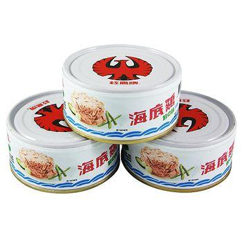 紅鷹牌海底雞鮮之味片狀 150g*3