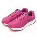 女【ARNOR】輕量慢跑鞋--Slash--桃紅--43202