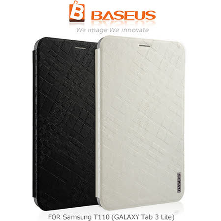 BASEUS 倍思 Samsung T110 (GALAXY Tab 3 Lite) 錦衣側翻皮套