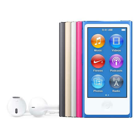 Apple iPod nano 16GB 多點觸控顯示器 可攜式媒體播放器 - 2015年新色到