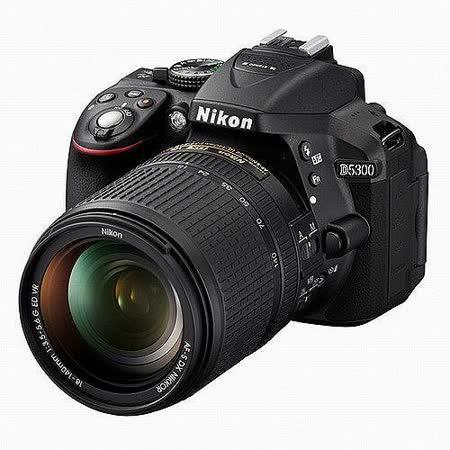 Nikon D5300 18-140mm旅遊鏡組(中文平輸) -加送SD32G記憶卡+專用鋰電池+清潔組+硬式保護貼
