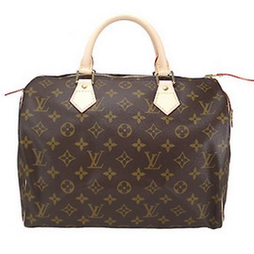 Louis Vuitton LV M41108 M41526 Speedy 30 花紋手提