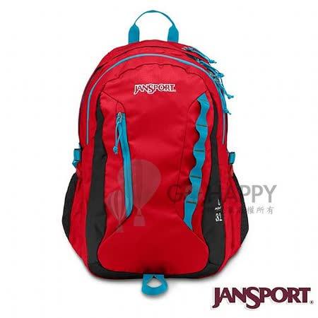 Jansport 32L 簡約舒適電腦後背包(磚紅色)