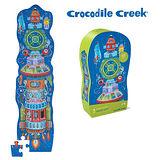 【美國Crocodile Creek】大型地板拼圖系列-太空船
