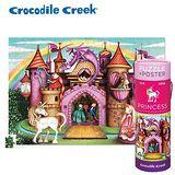 【美國Crocodile Creek】2合1海報拼圖系列-公主城堡