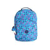 【Kipling】比利時品牌 限量花色 15吋電腦後背包 藍色派對 K-374-5015-041