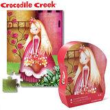 【美國Crocodile Creek】迷你造型拼圖系列-花園公主