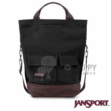 Jansport 25L BRODERICK 校園肩背包(黑色)