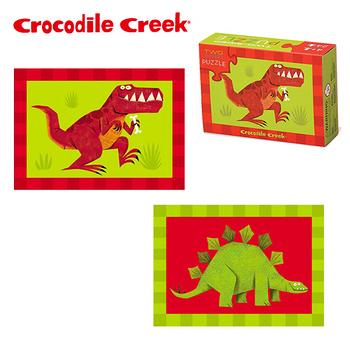 【美國Crocodile Creek】火柴盒雙面拼圖系列-男孩3入組