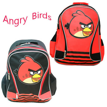 【Angry Birds】憤怒鳥護脊後背書包(2色可選)