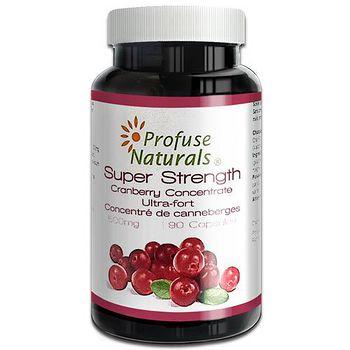 優沛康 優沛康【沛然ProfuseNaturals】36倍蔓越莓500mg濃縮膠囊 (90顆/瓶)