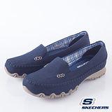 SKECHERS (女)時尚休閒鞋 BIKERS-48944NVY