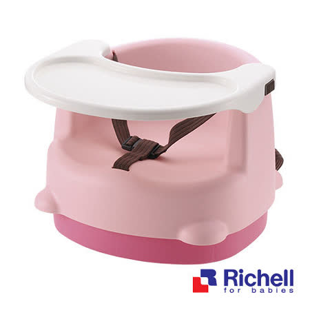 【部落客推薦】gohappy快樂購物網Richell日本利其爾 兩用型便利椅(LP粉)哪裡買台中 百貨