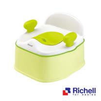 Richell日本利其爾 Pottis椅子型三階段訓練便器-綠色