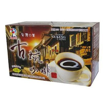 佳洲 台灣古坑三合一咖啡 (306g)17g*18小包/盒